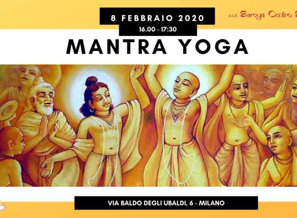 mantra yoga canti e danze